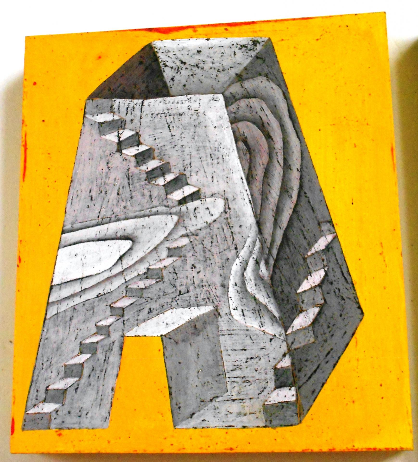 Escalier ziggurat