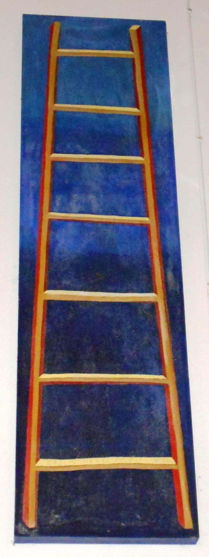 Grande échelle bleue