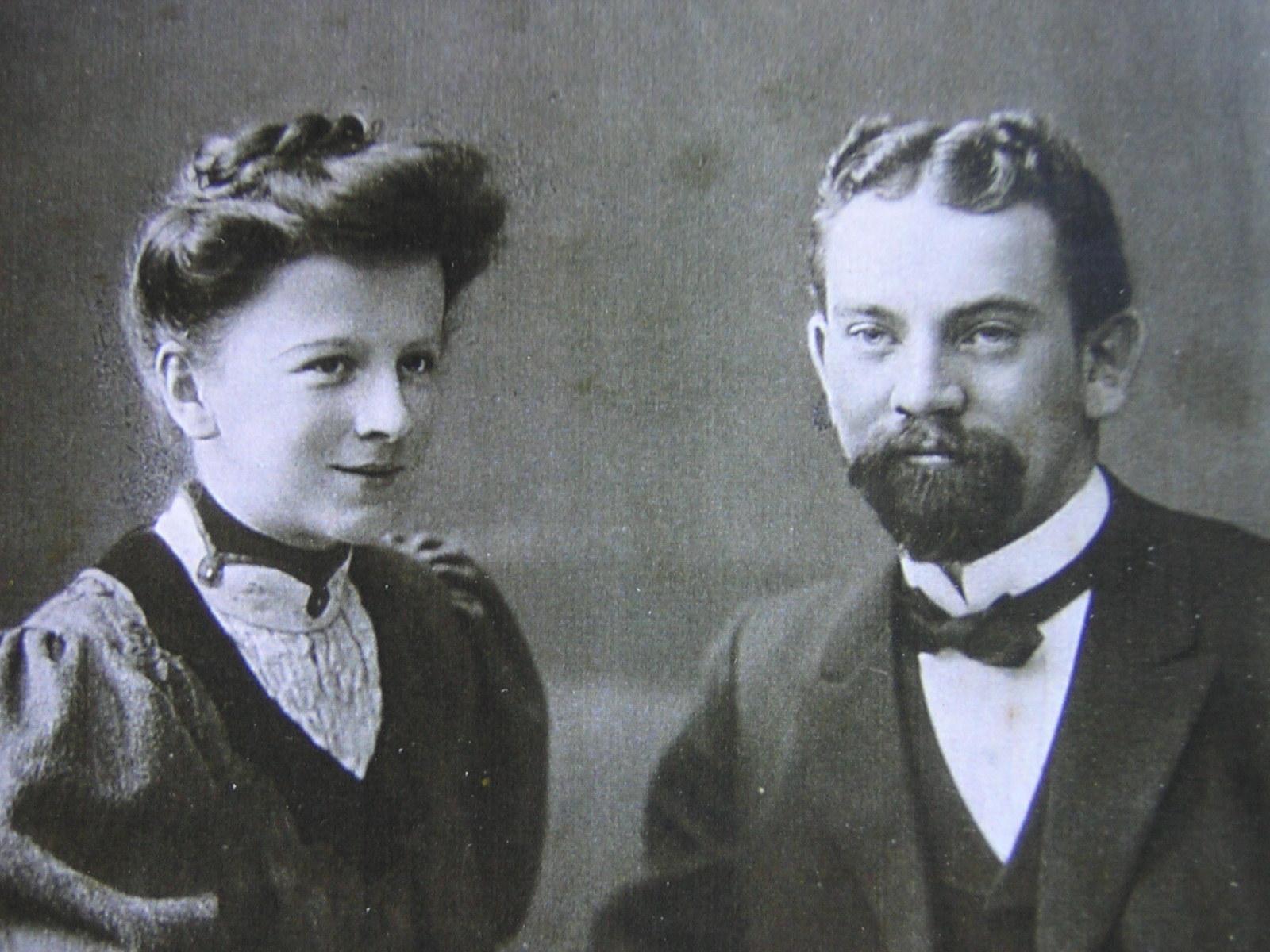 Pasteur et madame Bloch