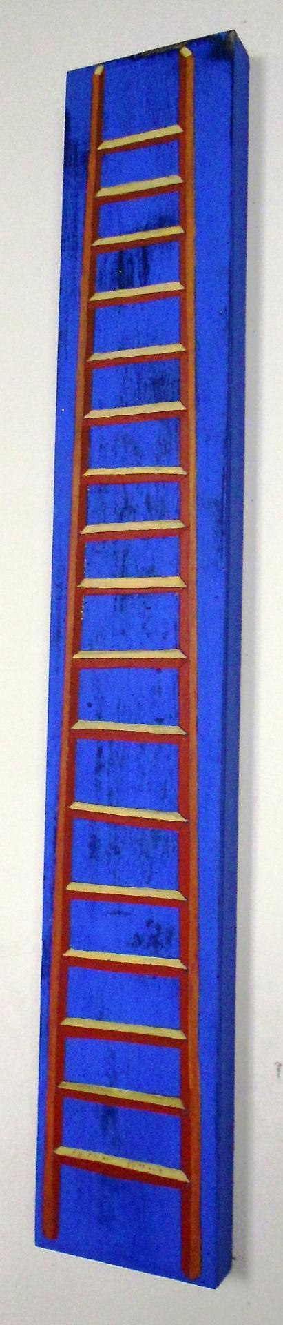 Petite échelle bleue