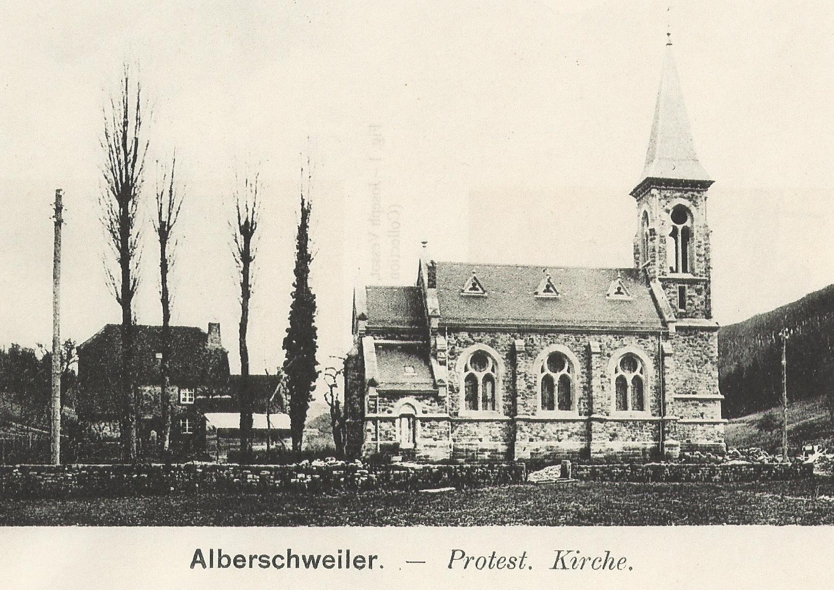 Temple abreschviller 1900