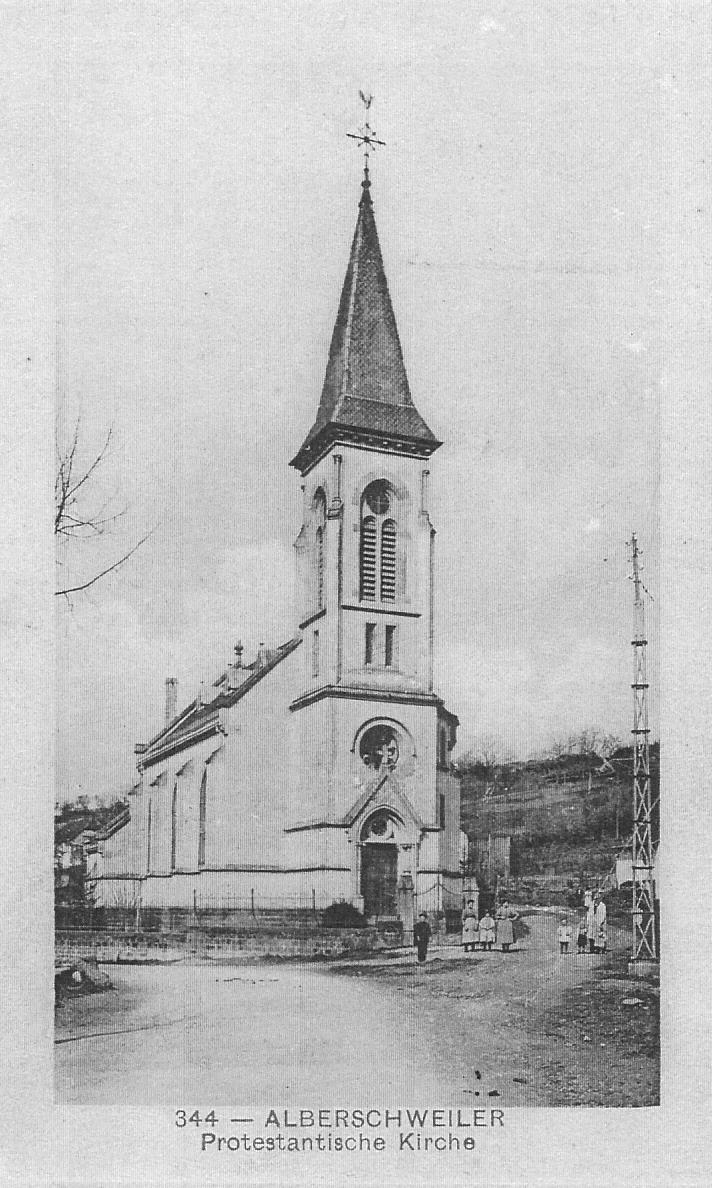 Temple abreschviller vers 1902