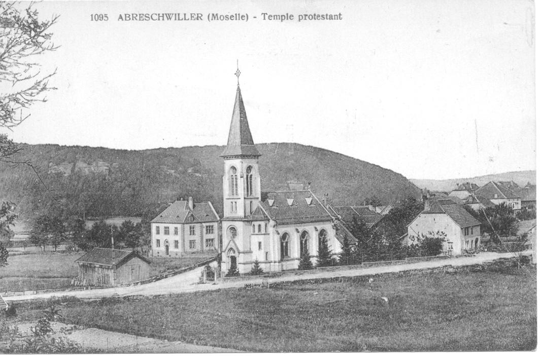 Temple abreschviller vers 1914