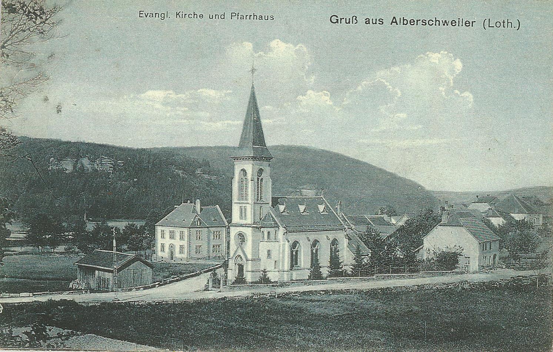 Temple abreschviller vers 1915