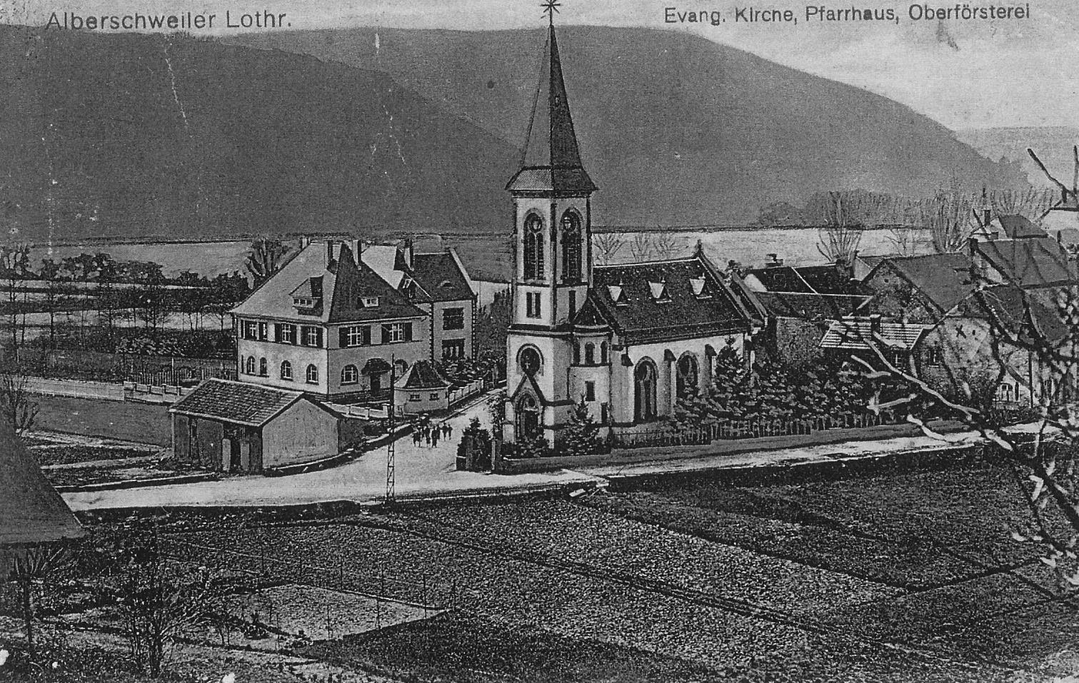 Temple abreschviller vers 1916