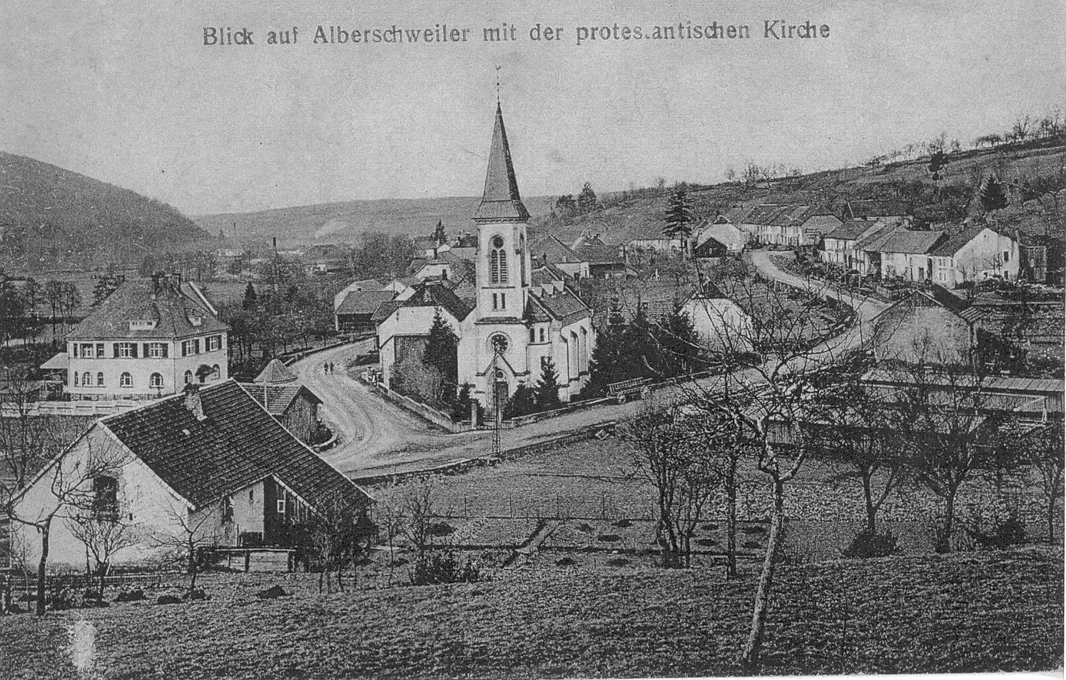 Temple abreschviller vers 1918