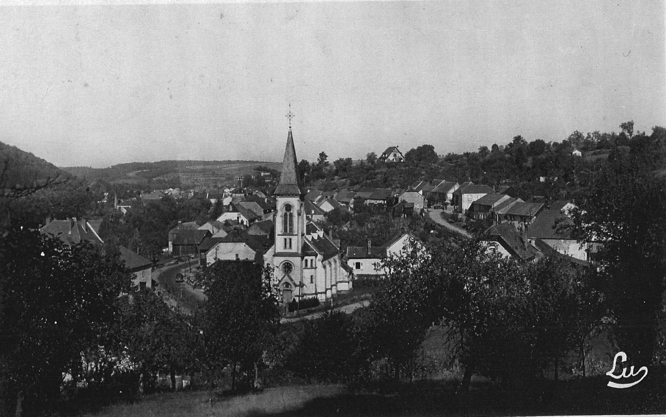 Temple abreschviller vers 1920