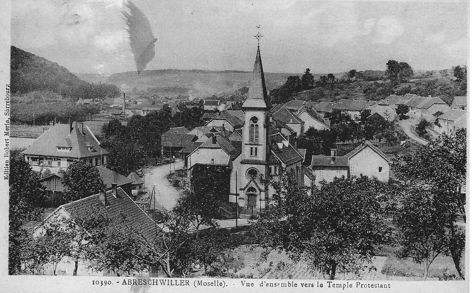 Temple abreschviller vers 1922