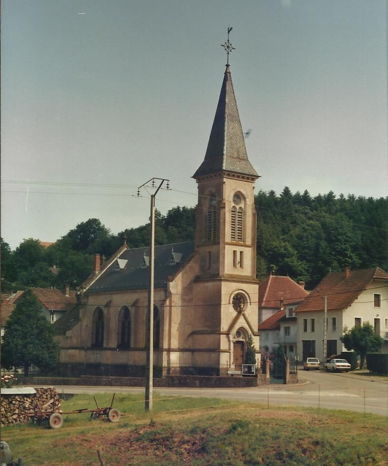Temple abreschviller vers 1989