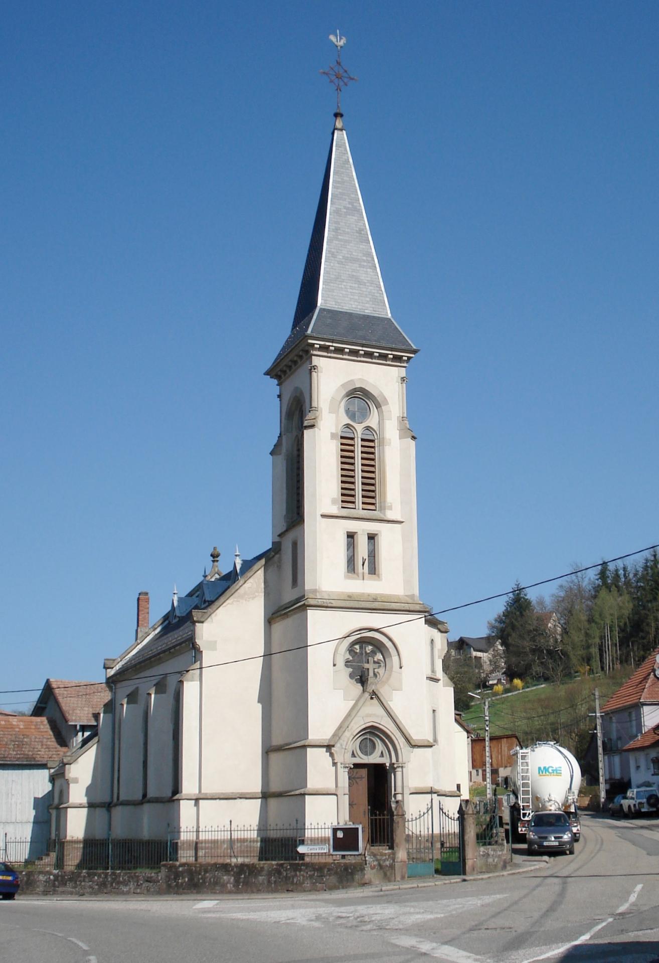 Temple d'Abreschviller vers 2006